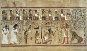 Book of the Dead or Papyrus of Any. ca. 1275