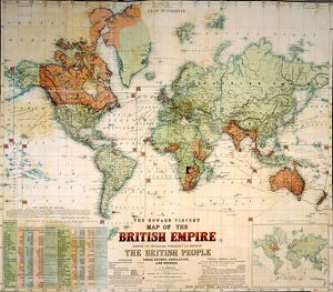 Map of the British Empire