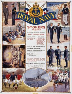 Royal Navy recruitment poster