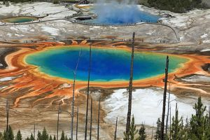 Grand Prismatic Spring Midway Geyser Basin, Yellowstone