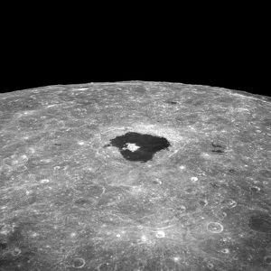 Lunar far side crater Tsiolkovsky
