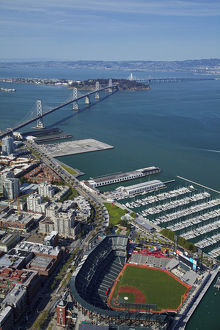 USA, California, San Francisco - AT&T Park / Giants Ballpark (home of San Francisco