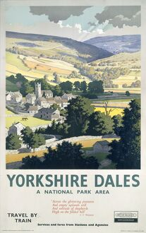 'Yorkshire Dales', BR poster, 1961