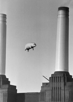 Pink Floyds Inflatable Pig Battersea Power Station